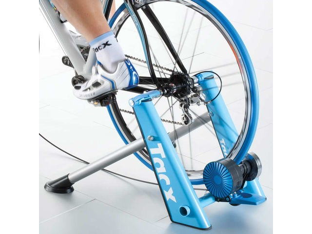 Tacx Blue Matic Folding Magnetic Trainer click to zoom image