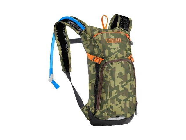 CamelBak Kids' Mini Mule Hydration Pack Camelflage 1.5l/50oz click to zoom image